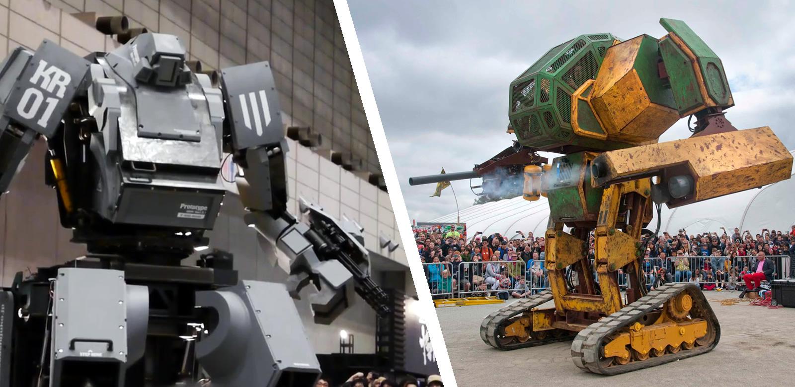 USA vs Japán robotpárbaj : kihívás elfogadva!